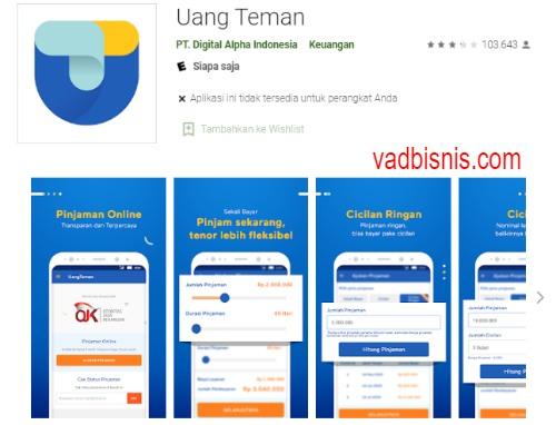 Uang Teman - Aplikasi Pinjaman Uang Online Cepat Cair